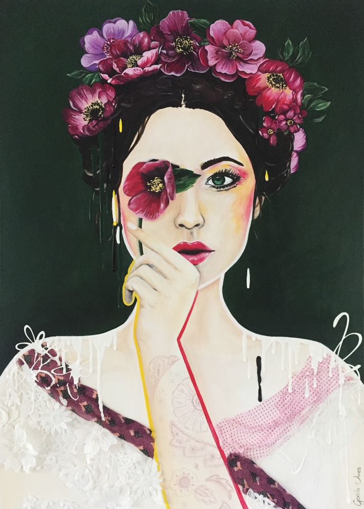 Forest Lady – Paintings a la Gonda