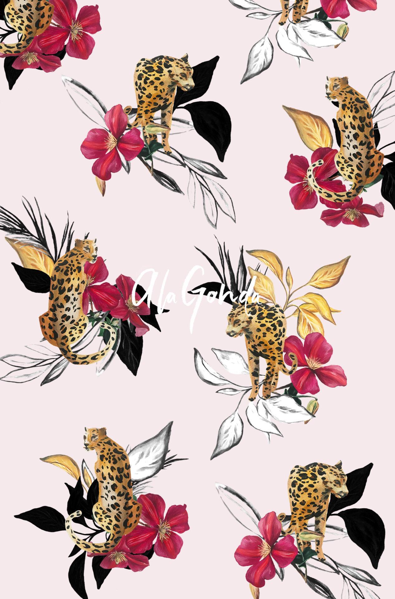 Leopard-Flower - a la Gonda