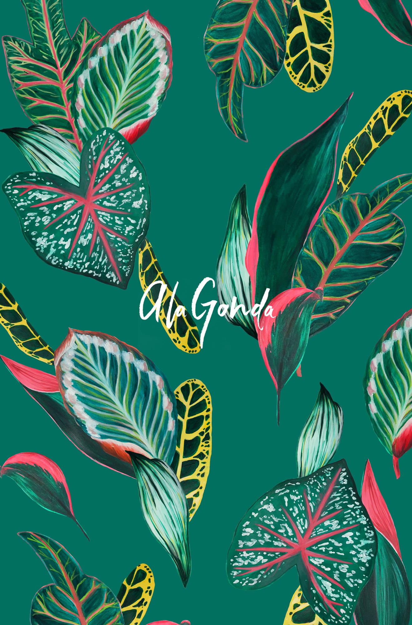 tropical-leaves-a-la-gonda