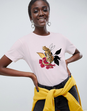 Leopard-Flower shirt - a la Gonda